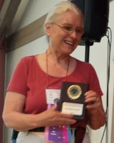 E. Gaines cropped award